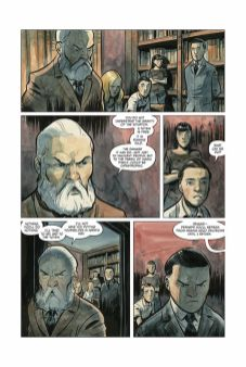 Dark Horse Comics Manor Black #4 Preview Page 2