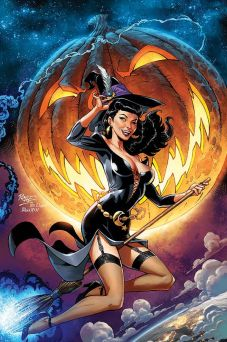 Dynamite Entertainment 2019 Bettie Page Halloween Special one-shot Cover A (Virgin) by John Royle