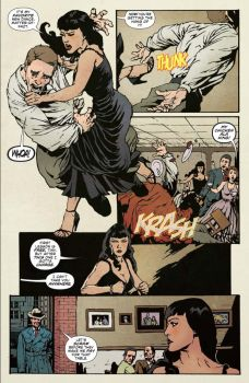 Dynamite Entertainment 2019 Bettie Page Halloween Special one-shot Preview Page 3