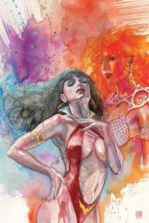 Dynamite Entertainment Vampirella/Red Sonja #2 Cover B (Virgin) by David Mack