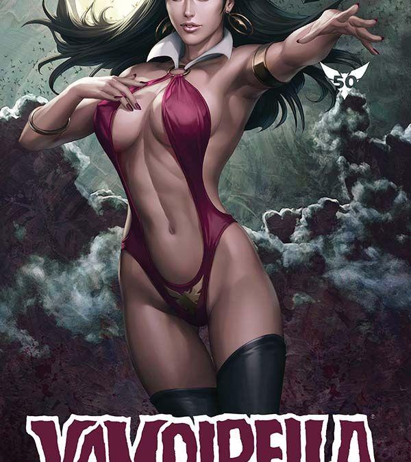 "Dynamite Entertainment Vampirella Vol. 5 #4 Cover A by Stanley ""Artgerm"" Lau"