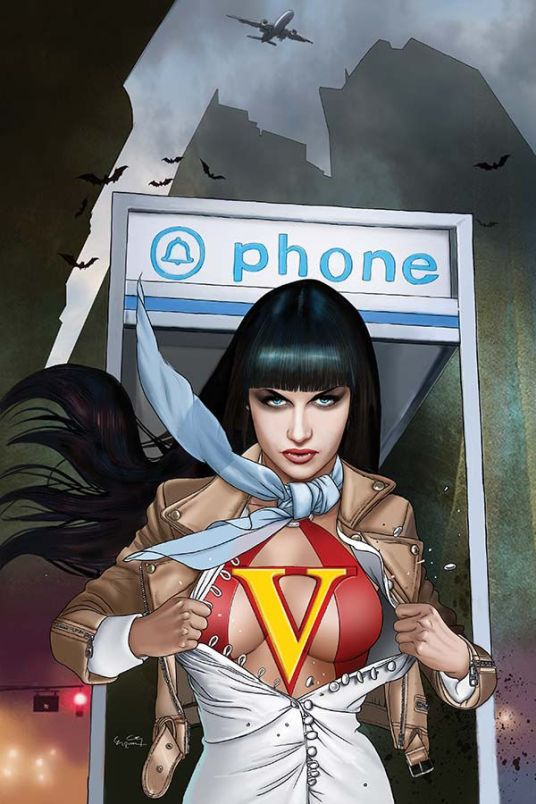Dynamite Entertainment Vampirella Vol. 5 #4 Cover D (Virgin) by Ergun Gunduz