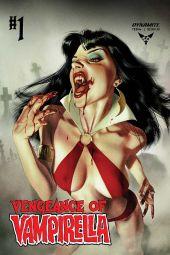 Dynamite Entertainment Vengeance of Vampirella Cover A by Joshua Middleton