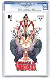 Dynamite Entertainment Vengeance of Vampirella Cover B (CGC) by Frank Cho