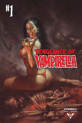 Dynamite Entertainment Vengeance of Vampirella Cover D by Lucio Parrillo