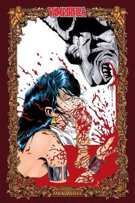 Dynamite Entertainment Vengeance of Vampirella Cover (Icon) by Quesada