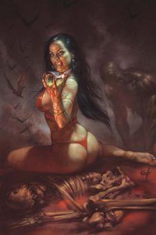 Dynamite Entertainment Vengeance of Vampirella Cover D (Virgin) by Lucio Parrillo