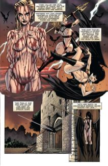 Dynamite Entertainment Vengeance of Vampirella Preview Page 3