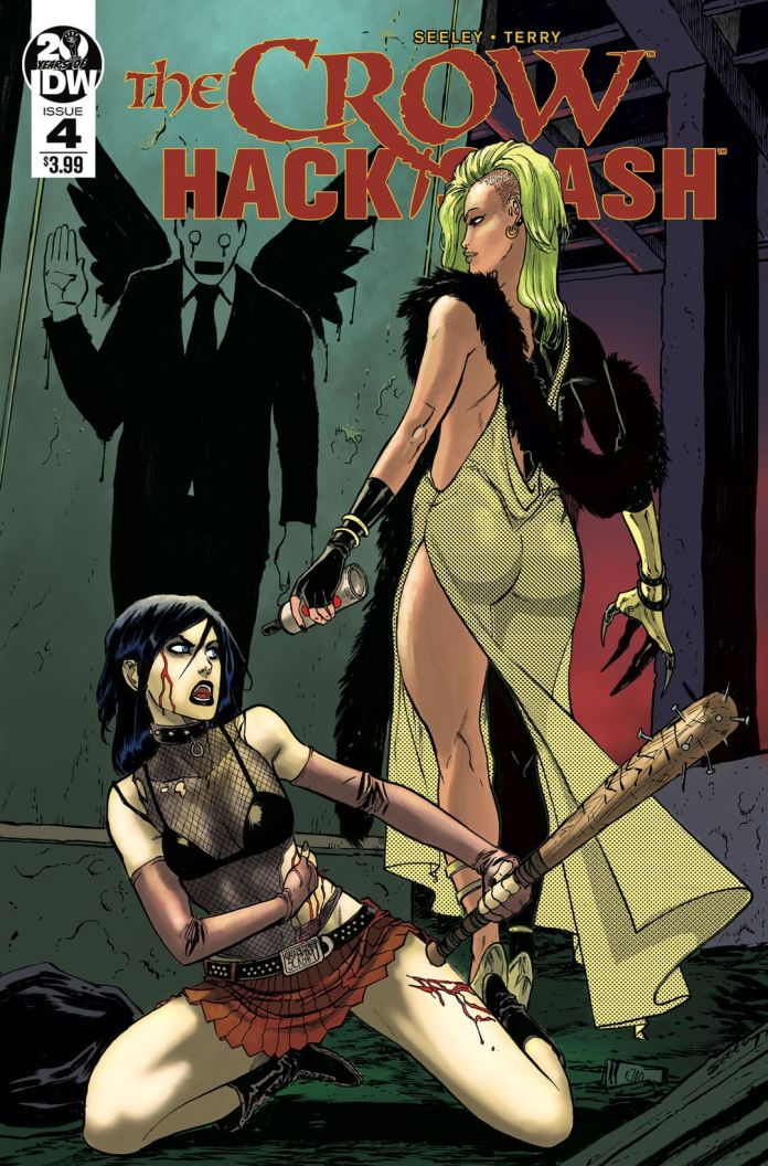 IDW Publishing The Crow Hack/Slash #4 Cover by Tim Seeley & Rebekah A. Isaacs