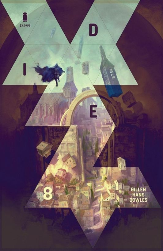 Image Comics Die #8 Cover B by Marc Simonetti