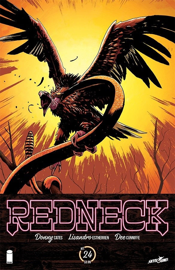 Image Comics & Skybound Entertainment Redneck #24 Cover A by Lisandro Estherren