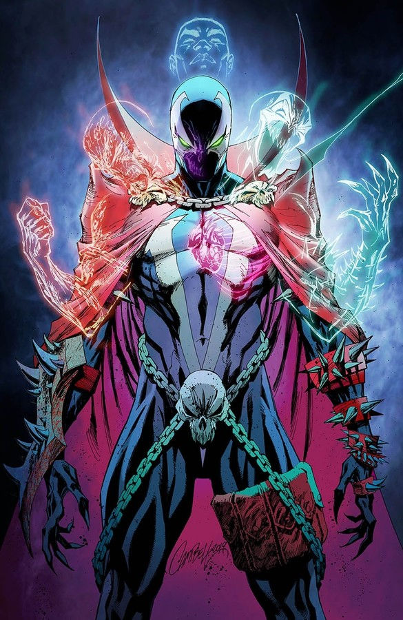 Image Comics Spawn #301 Cover P (Virgin) by J. Scott Campbell