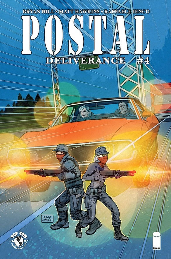 Image Comics & Top Cow Production Postal Deliverance #4 Cover A by Raffaele Ienco