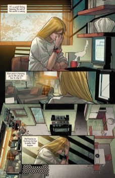 Image Comics & Top Cow Productions Witchblade (2017) #16 Preview Page 1