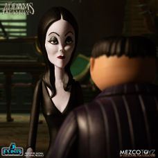 Mezco Toyz 5 Points The Addams Family (2019) Gomez & Morticia Action Figures