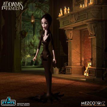 Mezco Toyz 5 Points The Addams Family (2019) Morticia Action Figure