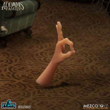 Mezco Toyz 5 Points The Addams Family (2019) Thing (Wednesday & Grandma Set) Action Figure