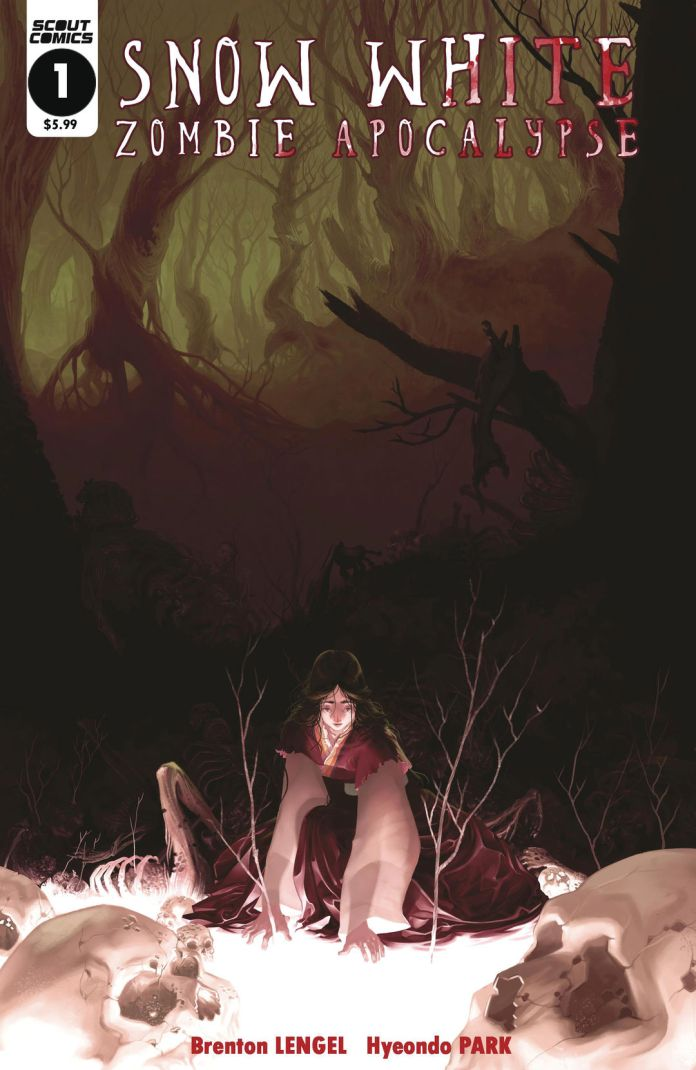 Scout Comics Snow White Zombie Apocalypse #1 Cover A by Hyeondo Park