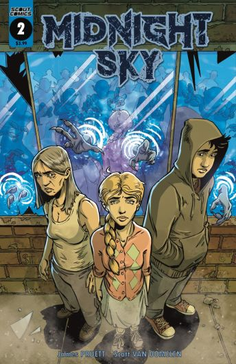 Scout Comics Midnight Sky #2 Cover A by Scott Van Domelen