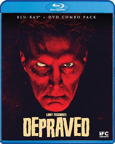 Scream Factory Depraved (2019) Blu-ray Cover