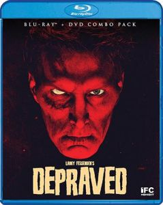 Scream Factory Depraved (2019) Blu-ray Cover