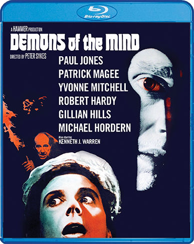 Scream Factory Demons of the Mind (1972) Blu-ray Cover