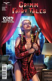 Zenescope Entertainment Grimm Fairy Tales 2019 Horror Pinup Special Cover B by Kevin McCoy