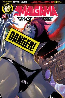 Action Lab Amalgama Space Zombie #2 Cover D (Risque) by Mastajwood