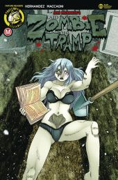 Action Lab - Danger Zone Zombie Tramp #65 Cover C by Rod Espinosa