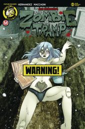 Action Lab - Danger Zone Zombie Tramp #65 Cover D (Risque) by Rod Espinosa