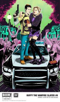 Boom! Studios Buffy the Vampire Slayer #9 Variant Cover by Ryan Inzana