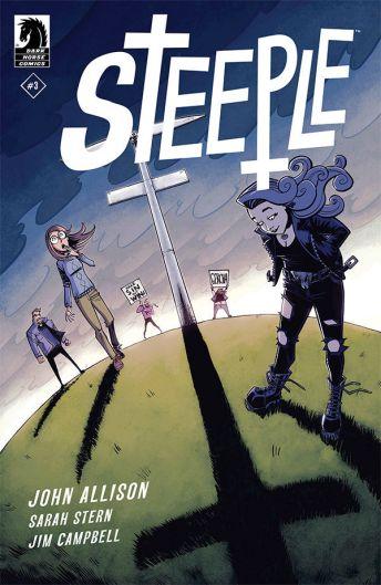 Dark Horse Comics Steeple #3 Cover B by Nick Roche & Josh Burcham