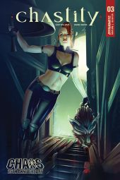 Dynamite Entertainment Chastity #3 Cover A by Catherine Nodet