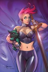 Dynamite Entertainment Chastity #3 Cover B (Virgin) by Ale Garza