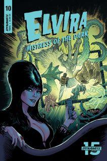 Dynamite Entertainment Elvira: Mistress of the Dark Cover B by Craig Cermak
