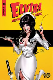 Dynamite Entertainment Elvira: Mistress of the Dark Cover C by John Royle