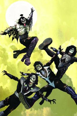 Dynamite Entertainment KISS Zombies Cover A (Virgin) by Arthur Suydam