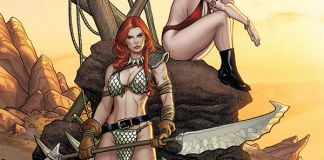 Dynamite Entertainment Vampirella/Red Sonja #3 Cover A by Frank Cho & Sabine Rich
