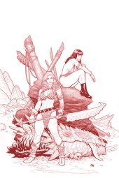 Dynamite Entertainment Vampirella/Red Sonja #3 Cover A (Red) by Frank Cho & Sabine Rich