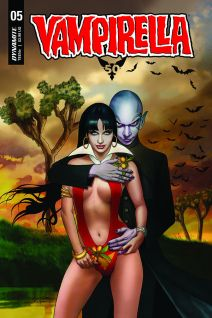Dynamite Entertainment Vampirella Vol. 5 #5 Cover D by Ergun Gunduz