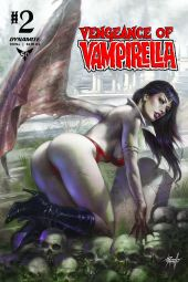 Dynamite Entertainment Vengeance of Vampirella #2 Cover A by Lucio Parrillo