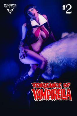 Dynamite Entertainment Vengeance of Vampirella #2 Cover D (Cosplay)