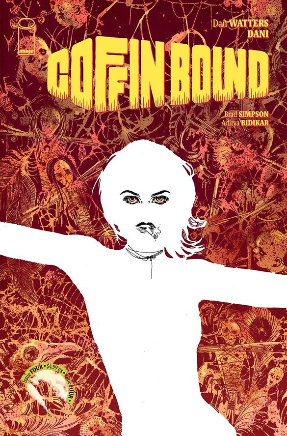 Image Comics Coffin Bound #4 Cover by Dani
