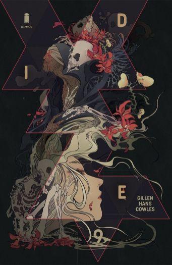 Image Comics Die #9 Cover B by Miquel Muerto & Emma Rios