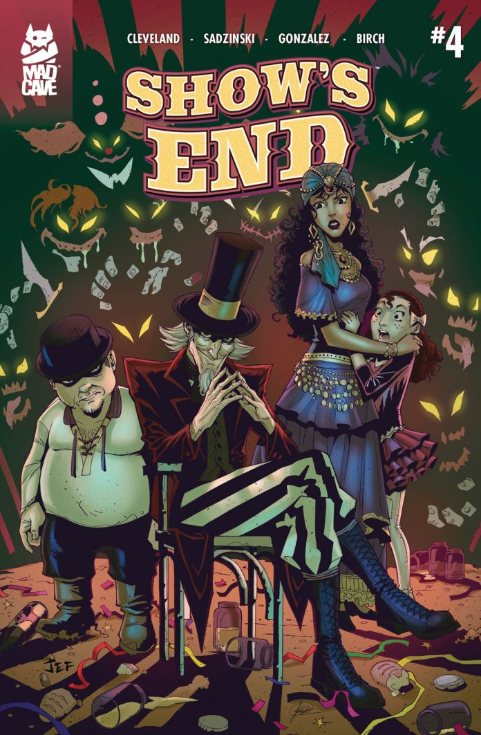 Mad Cave Studios Show's End #4 Cover A by Jeferson Sadzinski