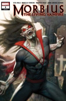 Marvel Morbius (2019) #1 Cover A by Ryan Brown