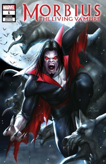 Marvel Morbius (2019) #1 Cover D by In-Hyuk Lee