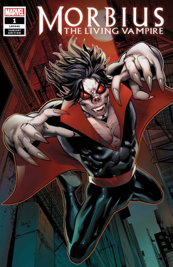 Marvel Morbius (2019) #1 Cover E by Greg Land