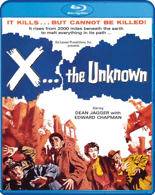 Scream Factory X The Unknown Blu-ray Cover