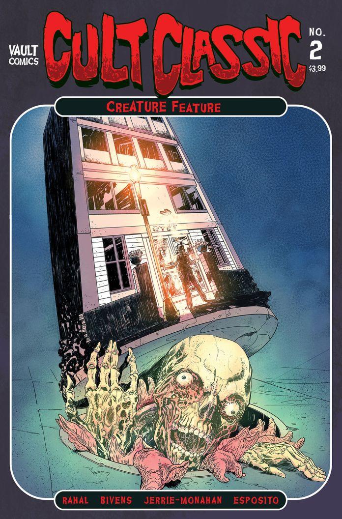 Vault Comics Cult Classics Creature Feature #2 Cover A by John Bivens